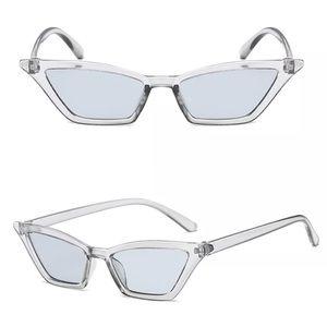 Accessories - [ new ] Skinny Vintage Cat-Eye Sunglasses
